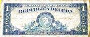 1 Peso (Silver Certificate Issue) – reverse