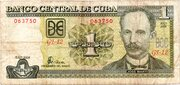 1 Peso (Watermark Célia Sánchez Manduley) – obverse