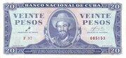 20 Pesos – obverse