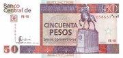 50 Pesos Convertibles -  obverse