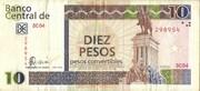 10 Pesos Convertibles – obverse