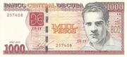 1 000 Pesos – obverse