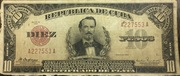 10 Pesos (Silver Certificate Issue) -  obverse