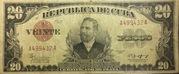 20 Pesos (Certificados de Plata) – obverse