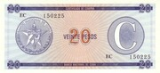 "20 Pesos ""C"" (Foreign Exchange Certificate-Narrow ""C"") -  obverse"