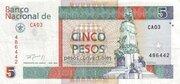 5 Pesos Convertibles – obverse