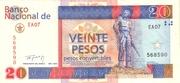 20 Pesos Convertibles – obverse