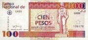 100 Pesos Convertibles – obverse
