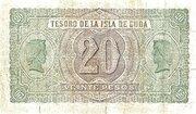 20 Pesos – reverse