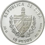 10 Pesos (Piet Heyn) -  obverse