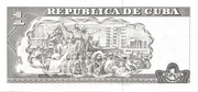 1 Peso (Watermark Célia Sánchez Manduley) – reverse