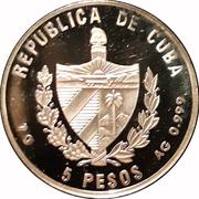 5 Pesos (Expo 2000 - Hannover) -  obverse