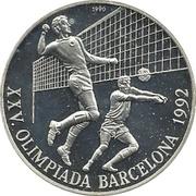 10 Pesos (Volleyball) – reverse