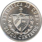 5 Centavos (Patria y Libertad) -  obverse