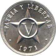 5 Centavos (Patria y Libertad) -  reverse