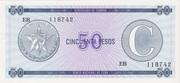 "50 Pesos ""C"" (Foreign Exchange Certificate-Narrow ""C"") -  obverse"