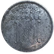 2½ Cents - Escojida Despale – obverse