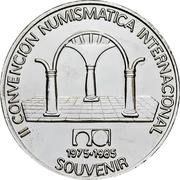 Medal - Numismatic Museum (Havana) – reverse