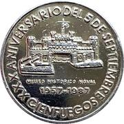 Medal - XXX Aniversario Del 5 De Septiembre – obverse