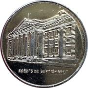 Medal - XXX Aniversario Del 5 De Septiembre – reverse