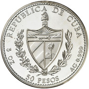 50 Pesos (Saint George Palace) -  obverse