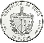 10 Pesos (Gold Tower) -  obverse