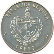 1 Peso (Moscow '80 XXII Summer Olympics) -  obverse