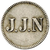 1 Stuiver (Jacob Jeosuah Naar) – obverse