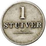 1 Stuiver (Jacob Jeosuah Naar) – reverse