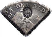 ¼ Gulden (Countermarked C) – obverse