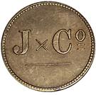 1 Stuiver (Jesurun & Co.) – obverse