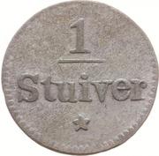 1 Stuiver - Willem I – reverse