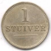 1 Stuiver (Jesurun & Co.) – reverse