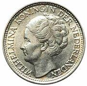 1/10 Gulden - Wilhelmina – obverse