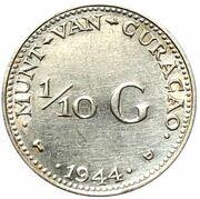 1/10 Gulden - Wilhelmina – reverse