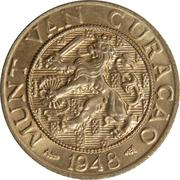 2½ Cents - Wilhelmina -  obverse