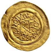 1 Tremissis - Karl der Grosse (Carolingian Mint) – obverse