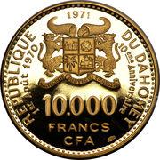 10 000 Francs (Independence) – obverse