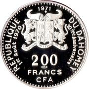200 Francs (Independence) – obverse