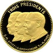 25 000 Francs (Independence) – reverse