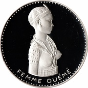 500 Francs (Independence) – reverse