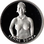 1000 Francs (Independence) – reverse