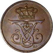 2 Øre - Frederik VIII – obverse