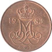 5 Øre - Margrethe II -  obverse