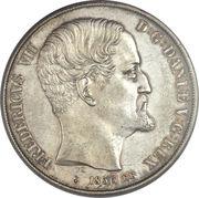 2 Rigsdaler - Frederik VII – obverse