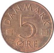 5 Øre - Margrethe II -  reverse