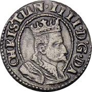 1 Søsling - Christian IV – obverse