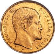 2 Frederiks d'Or - Frederik VII – obverse