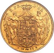 2 Frederiks d'Or - Frederik VII – reverse