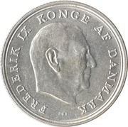 1 Krone - Frederik IX -  obverse